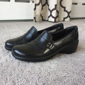 Clark's Black Shoe